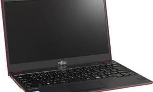 Fujitsu Lifebook U938 W10P Red