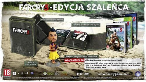 Far Cry 3 Edycja Szaleńca
