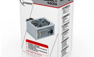 GEMBIRD ZASILACZ GMB 450W BOX 12cm FAN + Kabel (Intel 2.2)