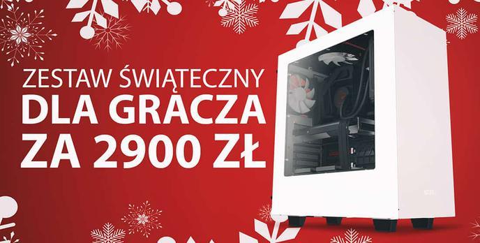 Świąteczny Zestaw dla Gracza za 2900 zł - Wirtualnik