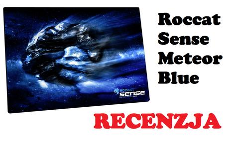 Roccat Sense Meteor Blue - podkładka pod mysz [RECENZJA]