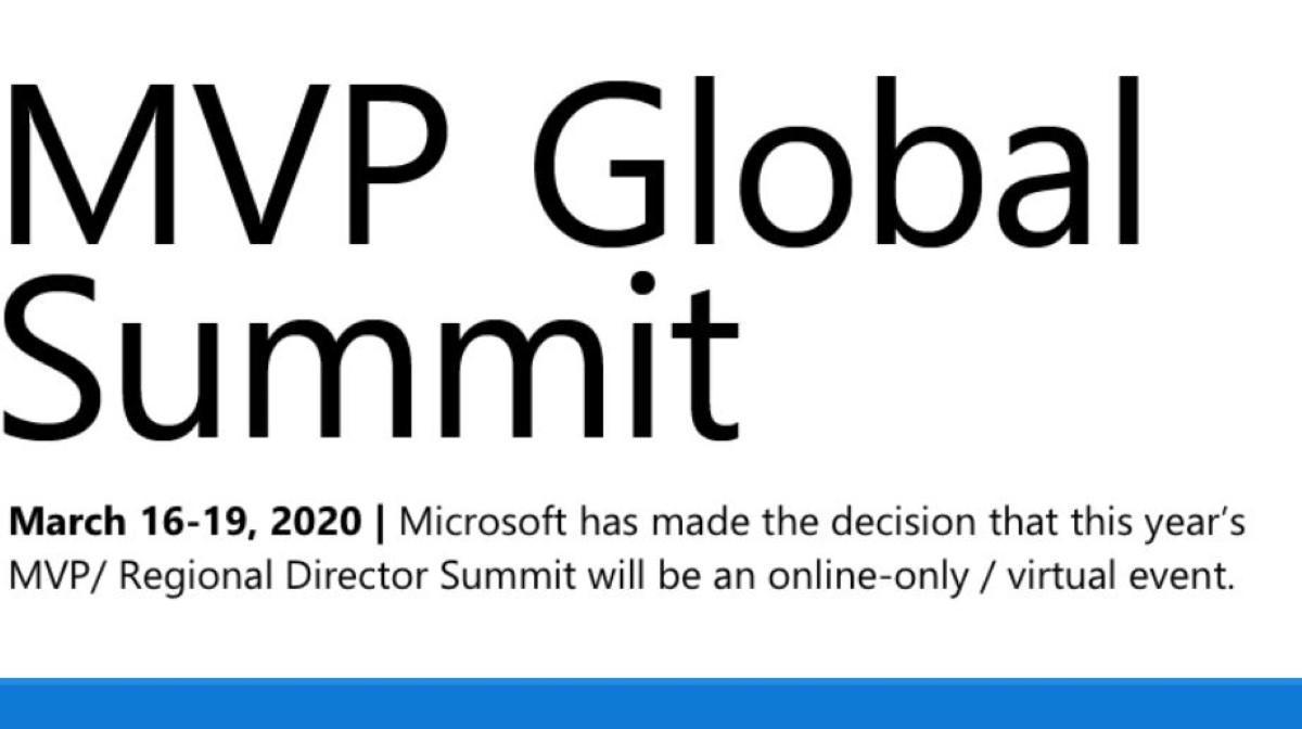 Odwołany MVP global summit