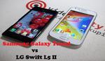 Samsung Galaxy Trend vs Lg Swift L5 II - porównanie budżetowych smartfonów.