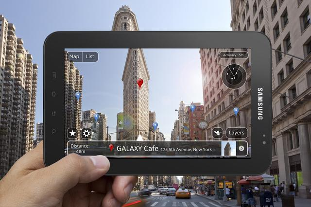 Nieoficjalne demo promujące Samsunga Galaxy Tab