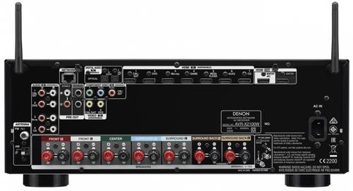 Denon AV AVR-X2100W BK