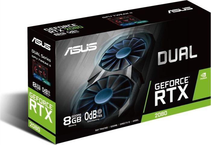 Asus RTX 2080 DUAL 8GB + EKSPRESOWA DOSTAWA W 24H