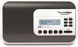 TECHNISAT DigitRadio200 CYFROWE,DAB,FM białe