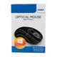 4World Mysz optyczna BASIC3 PS2 800dpi czarna