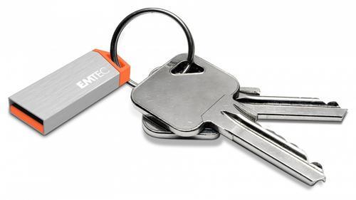 EMTEC Pendrive 16GB ALU mini S210S Silver