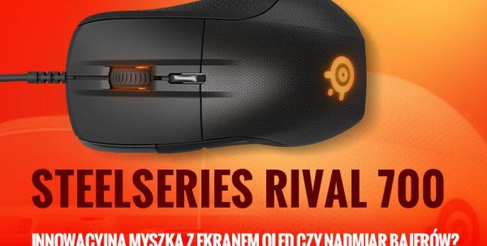 SteelSeries Rival 700 - Innowacyjna Myszka z Ekranem OLED czy Nadmiar Bajerów?