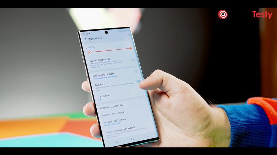 Samsung Galaxy Note 10+ tryb ciemny