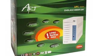 ART UPS IN100011 LED IN Line 1000VA RJ11 RS232