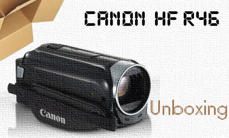 Nowa kamera naszego redaktora :) Canon Legria HF R46 - rozpakowanie