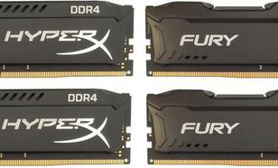 Kingston HyperX FURY DDR4 DIMM 16GB 2133MHz (4x4GB) HX421C14FBK4/16