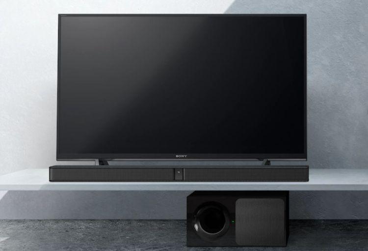 Sony HT-CT290 koło telewizora sony