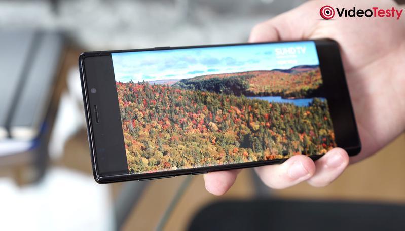 Ekran Galaxy Note 9 obsługuje HDR 10