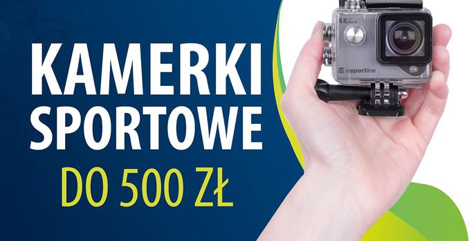 Tanie kamerki sportowe do 500 zł |TOP 7|