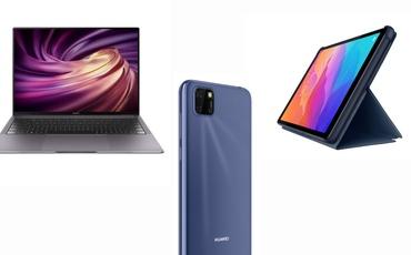 Huawei gra ostro! Pokazał dwa tanie smartfony, tablet oraz dwa mocne laptopy