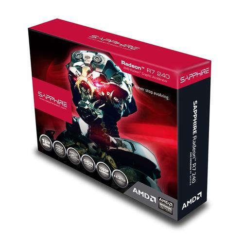 Sapphire Radeon R7 240 BOOST 1GB DDR5 PCI-E 128BIT HDMI/DVI/Dsub Lite