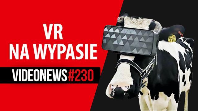 Krowy w VR, Sony w gastronomii, dron niczym pocisk - VideoNews #230