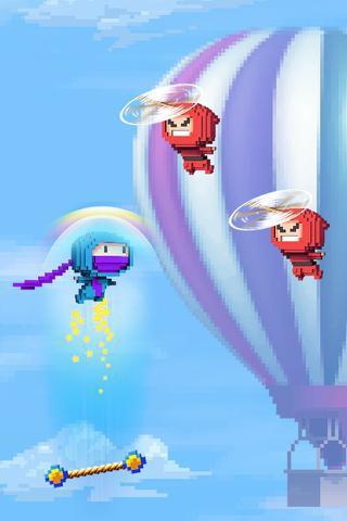 Ninja UP! Przeciwnicy