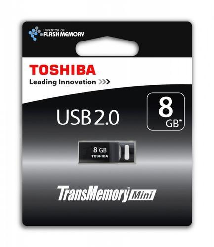 Toshiba 8GB SURUGA BLACK USB 2.0 RETAIL