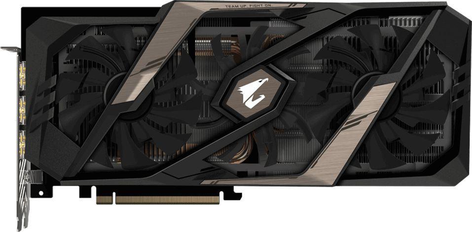 Gigabyte AORUS GeForce RTX 2070 8G 8GB GDDR6 (256 Bit), 3xHDMI, 3xDP,