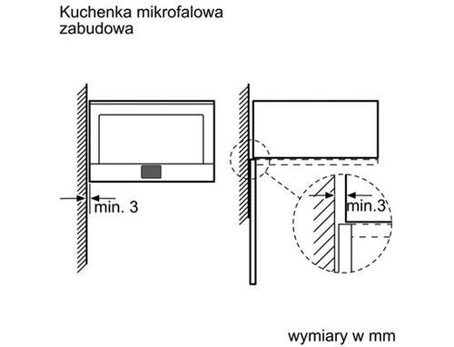 Bosch Kuchnia mikrofalowa HMT85ML63