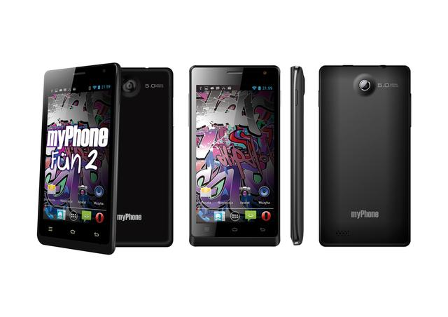myPhone FUN2 - nowy telefon od polskiego producenta