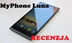MyPhone Luna - 5,5 Calowy Smartfon z Sześcioma Rdzeniami