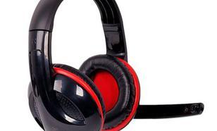 4world kabel 2,2m mikrofon czarno-czerwone