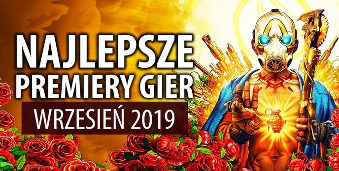 Najlepsze Premiery Gier Wrzesień 2019 - Warsaw, Gears 5, Borderlands 3
