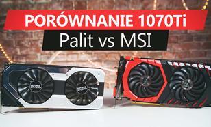 Pojedynek GTX 1070 Ti - MSI Gaming Vs Palit SuperJetstream - Która Karta Lepsza?