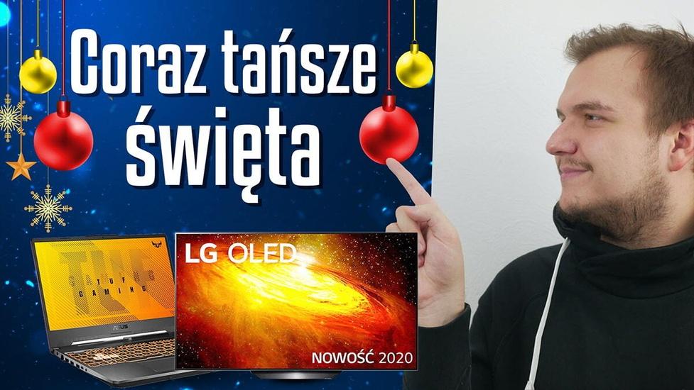 Coraz bliżej święta! Telewizor LG OLED 600 zł taniej!