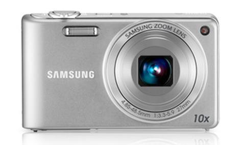 Samsung PL210 - bardzo smukły, ale funkcjonalny aparat fotograficzny