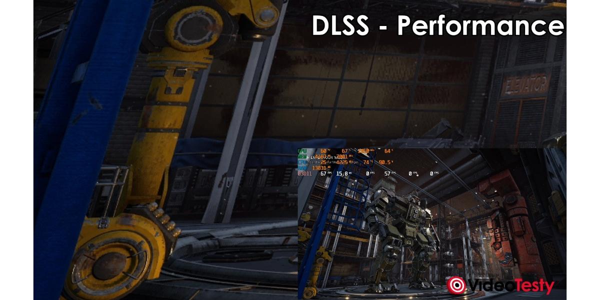 MechWarrior5 - DLSS Performance