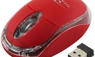 Titanum Condor Bezprzewodowa Optyczna 3D czerwona (TM120R)