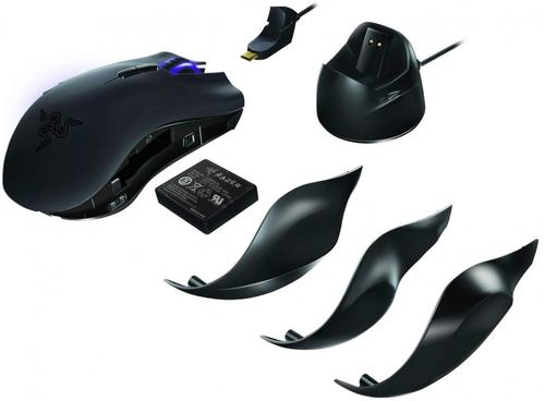 RAZER Mysz NAGA EPIC 5600DPI (WIRELESS&WIRED)