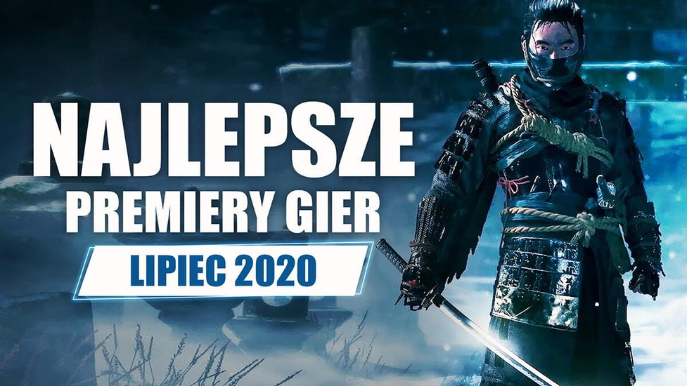 Najlepsze Premiery Gier Lipiec 2020 - F1 2020, Ghost of Tsushima, Paper Mario: The Origami King