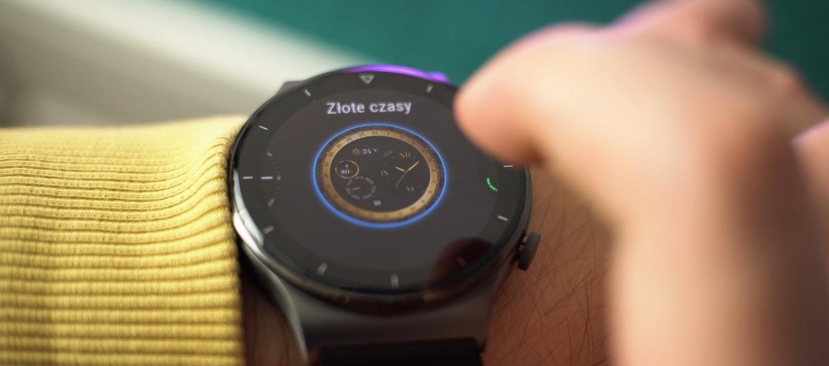 Ekran Huawei Watch GT2 Pro to naprawdę dobra matryca