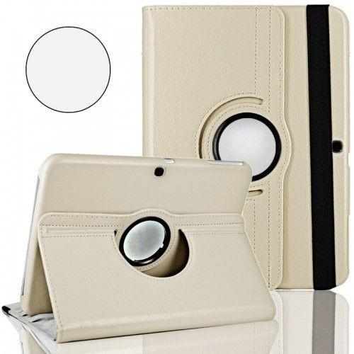"""WEL.COM Etui obrotowe Samsung Galaxy Tab 4 10.1"""" białe"""