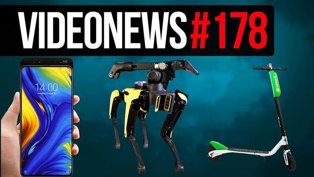Rozsuwany Xiaomi, Łodzie podwodne Intela, Hulajnogi na Minuty - VideoNews #178