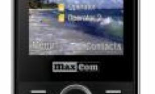 Maxcom MM 136 , czarny (MAXCOMMM136)