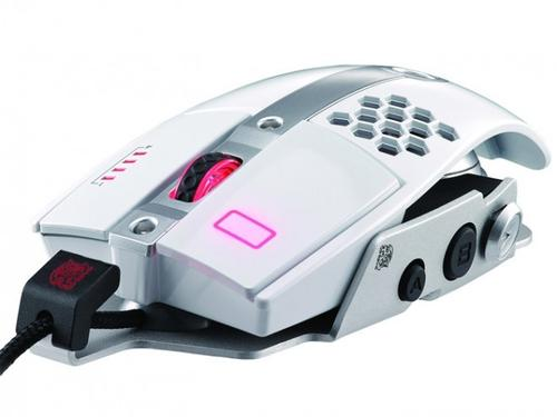 Thermaltake Tt eSPORTS Myszka dla graczy - Level 10 M 8200 DPI Laser Iron White