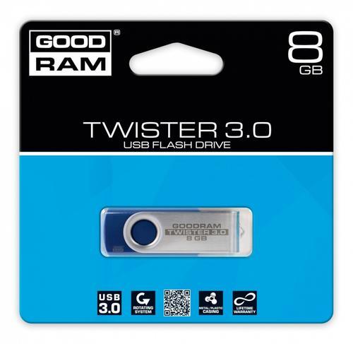 GoodRam TWISTER BLUE 8GB USB3.0