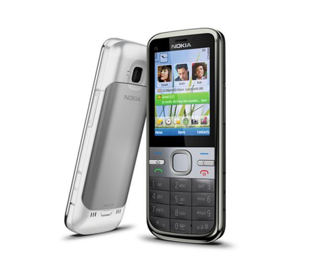 Nokia C5 - pierwszy model z Cseries