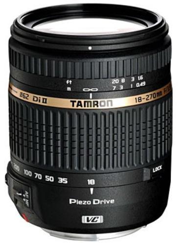 Tamron Obiektyw 18-270mm F3,5-6,3 Di II PZD Nikon