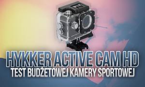 Hykker Active Cam HD - TEST Budżetowej Kamery Sportowej
