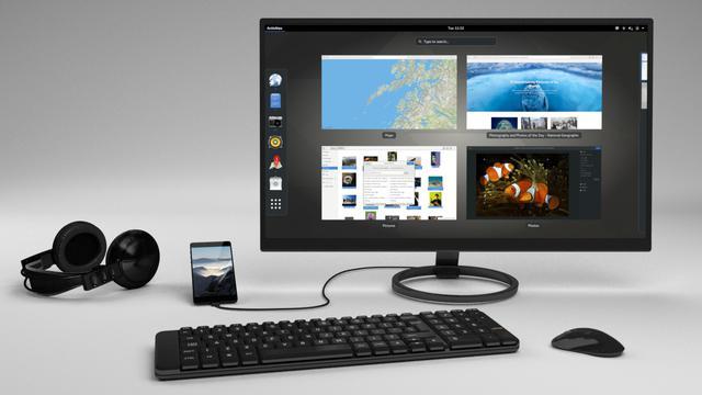 Telefon od Purism korzysta z PureOS - modyfikacji Linuxa (Zdj: Purism)