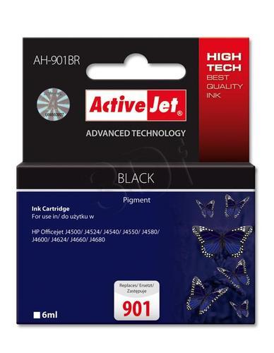 ActiveJet AH-901BR tusz czarny do drukarki HP (zamiennik HP 901 CC653AE) Premium